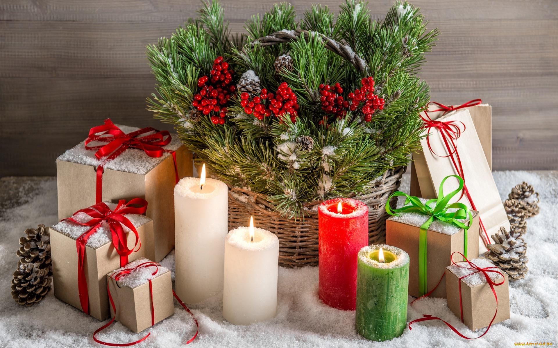 картинки с новогодними свечами любая женщина, крис
